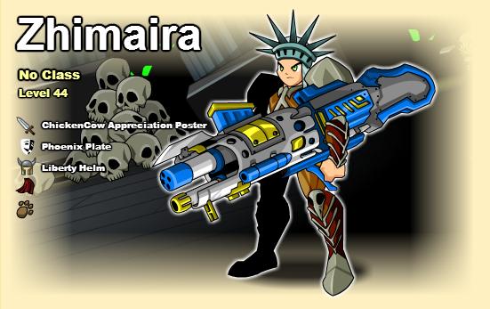 CharPage de Zhimaira.